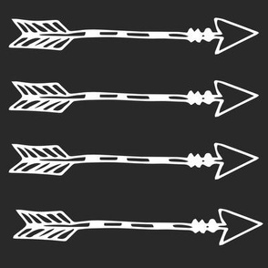 Tribal Arrows Black