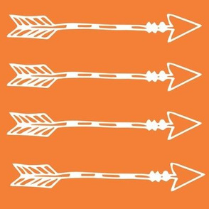 Tribal Arrows Orange