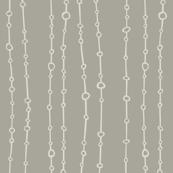 Dewdrops gray
