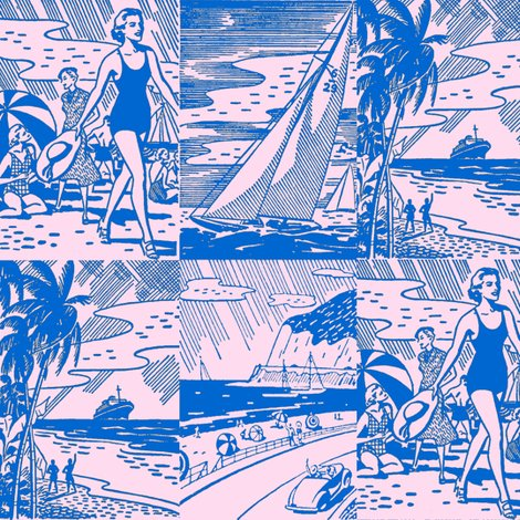 Rretro_beach_postcards_shop_preview