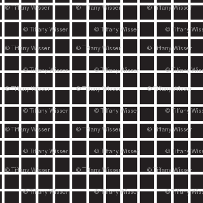Small Grid - Black