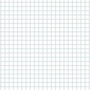 Small Grid - white/blue