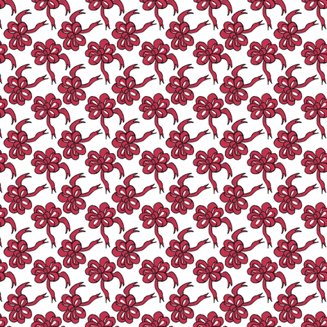bows fabric by mummysam on Spoonflower - custom fabric