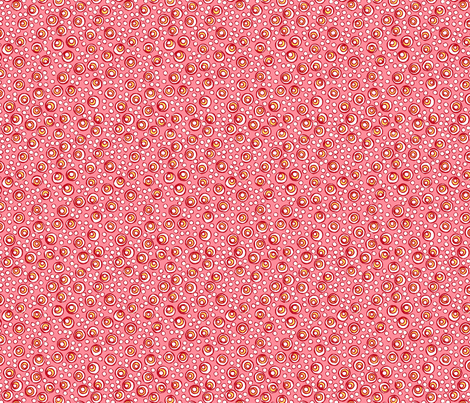 Bubbles - Spring Pink fabric by jodiebarker on Spoonflower - custom fabric