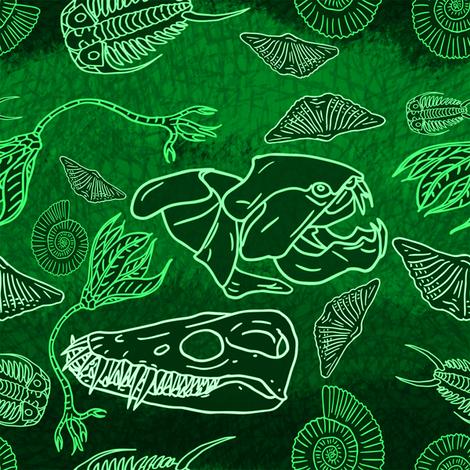 originalfossil10 fabric by craftyscientists on Spoonflower - custom fabric