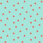 Flutter - Mint & Red