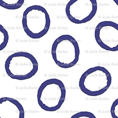 Ring Ring - Deep Periwinkle