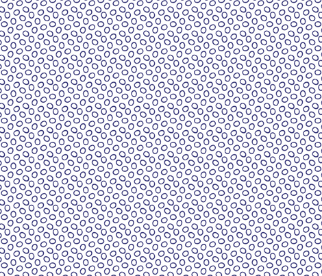 Ring Ring - Deep Periwinkle fabric by jodiebarker on Spoonflower - custom fabric