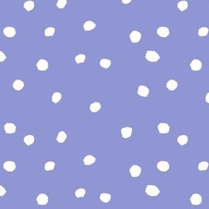 COTTON BALL DOTS Lavender