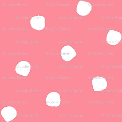 Odd Dots - Spring Pink Reversed