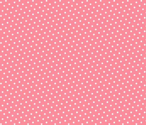 Odd Dots - Spring Pink Reversed fabric by jodiebarker on Spoonflower - custom fabric