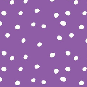 COTTON BALL DOTS Purple