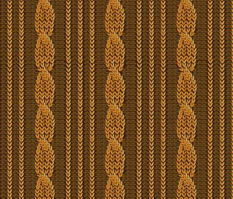 aran3 fabric by minyanna on Spoonflower - custom fabric