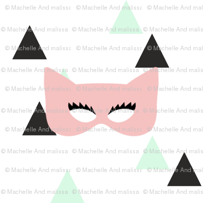 Girly Masks on Triangles