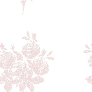 Hand Drawn Floral Toile