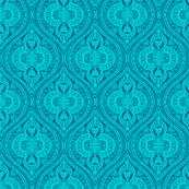 Ogee Aqua hearts turquoise summer