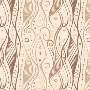 Curvy Swirl – Taupe
