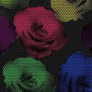 Needlepoint rose