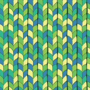 Tangled - green