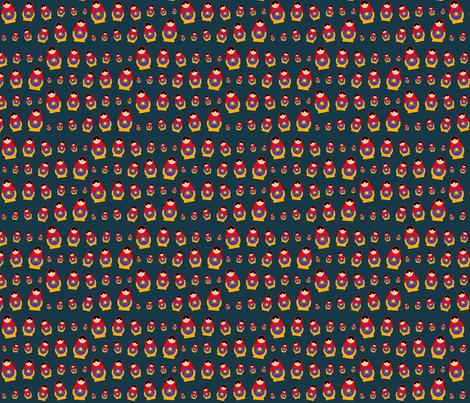 Matryoshka Doll fabric by hermes_greetings on Spoonflower - custom fabric