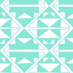 Southwest Pattern Aqua