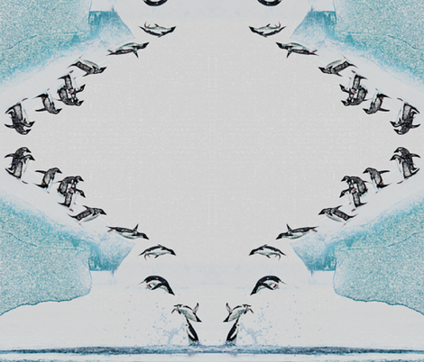 Penguins fabric by jacneed on Spoonflower - custom fabric