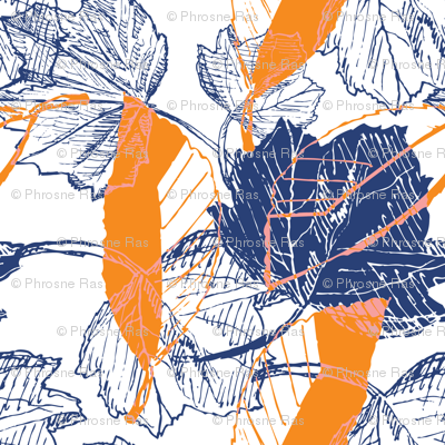 Tropical Bright Botanical Sketches