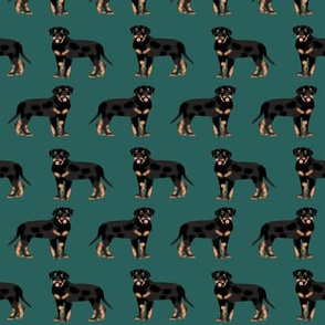 rottweiler fabric dog fabric design rottweiler repeat fabric - eden green
