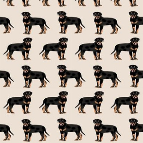 rottweiler fabric dog fabric design rottweiler repeat fabric -sand