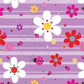 FlowersWithLadybugsPurple_90Degress_CCW