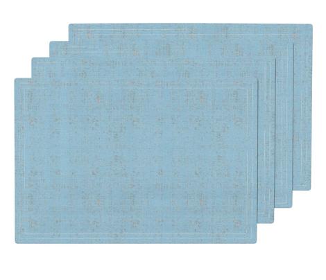 linen - baby blue