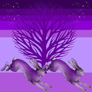 The Magical Purple Hares