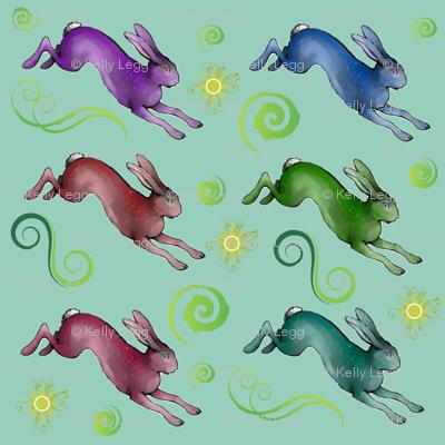 Rainbow Hares