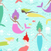 Mermaid Princess Multi (Larger Scale)