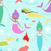 Mermaid Princess Multi (Larger Scale)