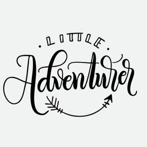 """8"""" Quilt Block - Little Adventurer"""