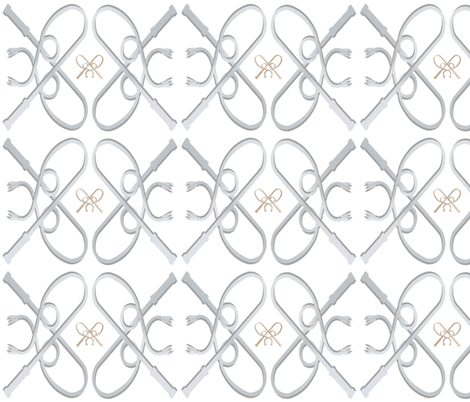 reins_double_grey_blue_light fabric by elliemacdesigns on Spoonflower - custom fabric