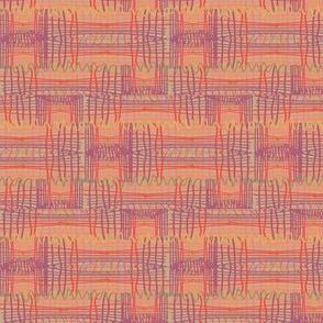 Freeform Saori Weave warm