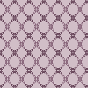 Acorns Lattice - Mauve