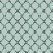 Acorns Lattice - Soft Green