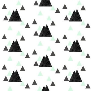 Faded Mountains on Triangles