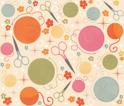 Unwind A Little fabric by jody_mcmullen on Spoonflower - custom fabric