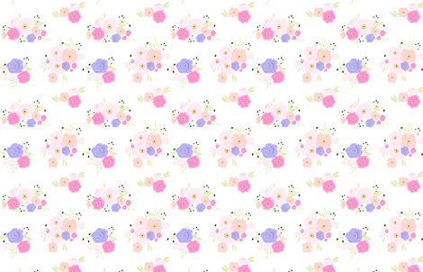 Indy bloom design poppy dot fabric by indybloomdesign on Spoonflower - custom fabric
