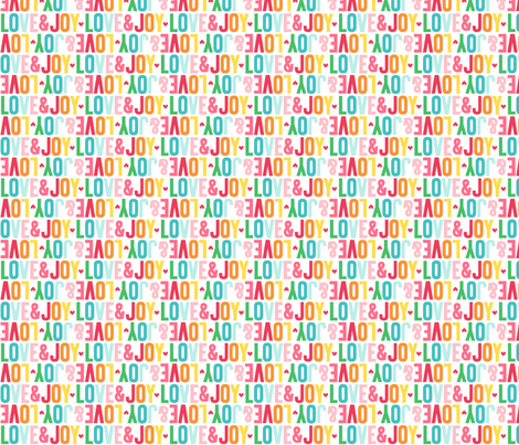 love joy alternating fabric by misstiina on Spoonflower - custom fabric