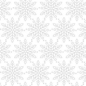 Gray Snowfall