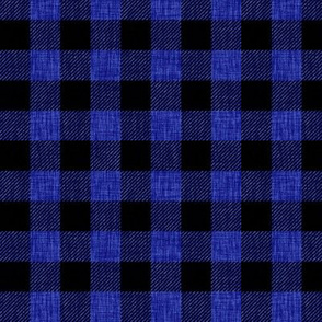 Rustic Check - blue