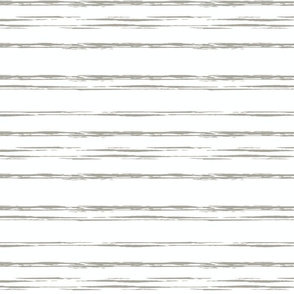 Gray and White Sketch Stripe