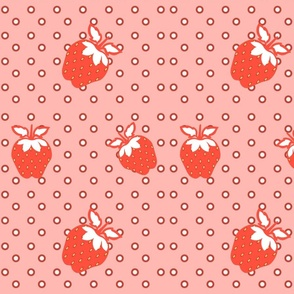 Strawberry on Dots