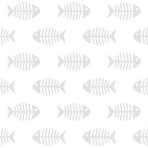 Grey Fishes on White