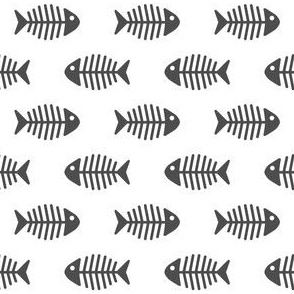 Dark Grey Fishes